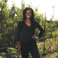 Shantall Bingham, Program Director, Charlottesville Food Justice Network at City Schoolyard Garden